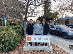Newman's Y Combinator Team Photo