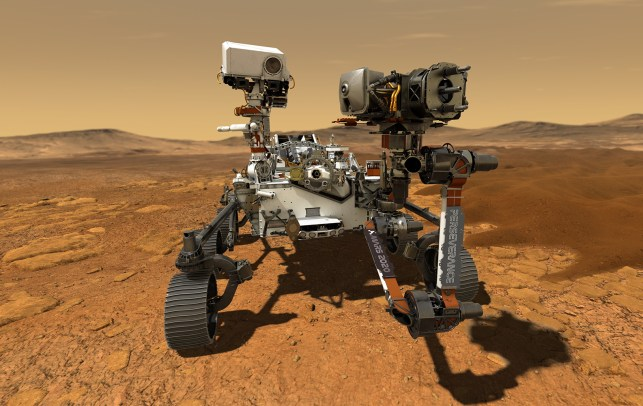 Watch NASA's Mars Perseverance rover launch live