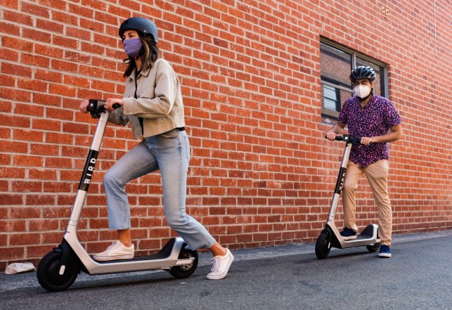 bird-Yonkers scooters