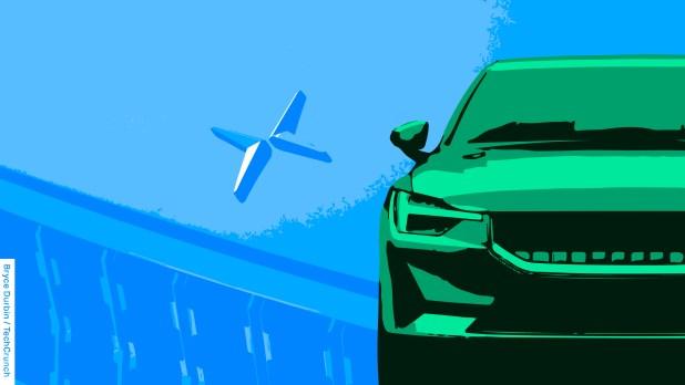 Cars: Polestar illustration