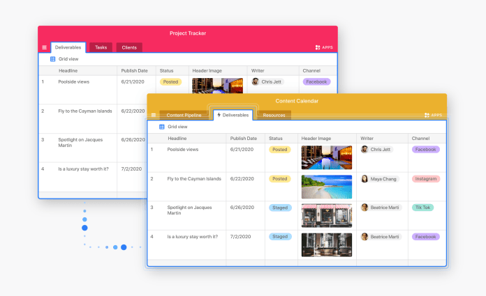sync Airtable raises $185M and launches new low-code and automation features
