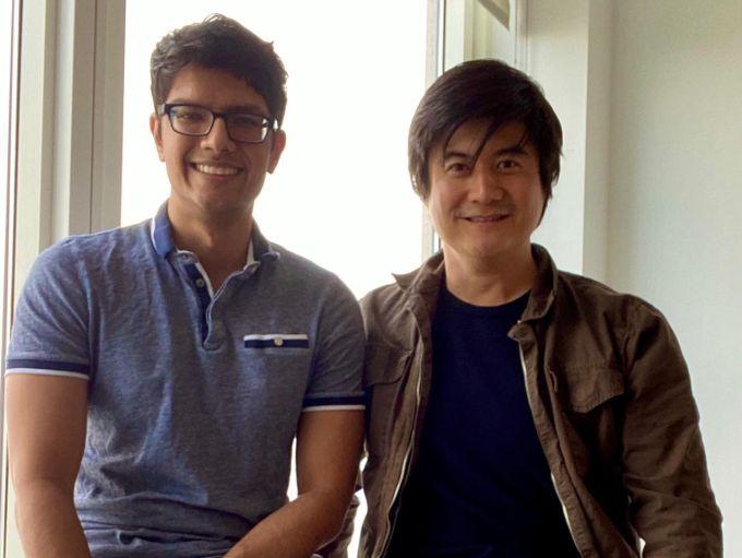Taste founders Daryl Sew, Jeff Chen