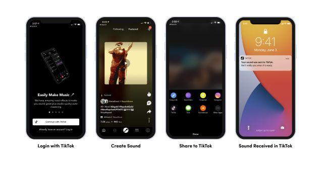 Четыре скриншота с новыми инструментами для разработчиков от ТикТок 2
