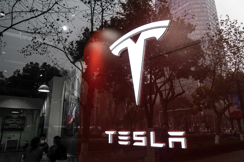 Tesla electric vehicle china