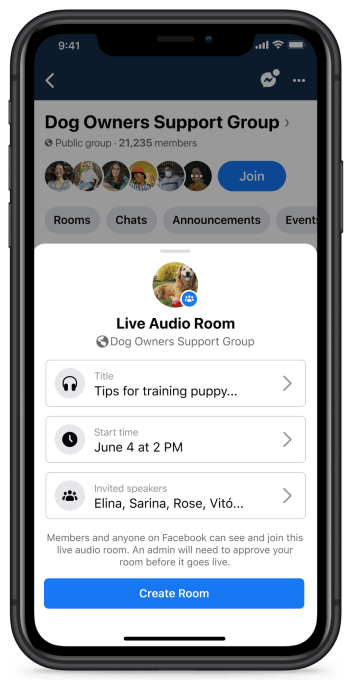 Facebook officially launches Live Audio Rooms and podcasts in the U.S. – TechCrunch 5