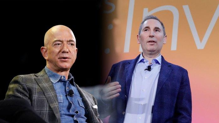 Jeff Bezos, Executive Chairman and CEO of Amazon Andy Jesse