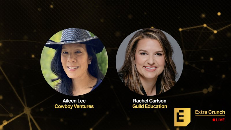 Aileen Lee, Guild Education's Rachel Carlson and I will be sharing our experience. How to say yes to Extra Crunch Live