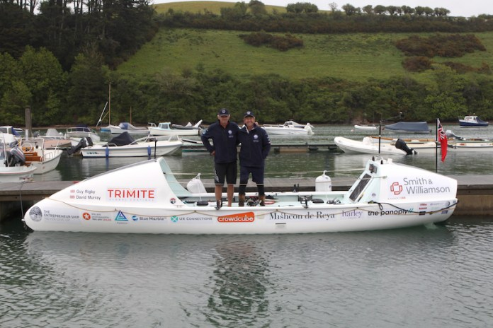 Two tech leaders from the UK plan to sail across the Atlantic in support of charity Supporting minority entrepreneurs