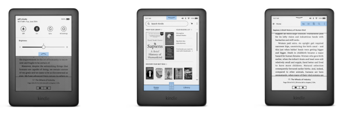 Amazon releases a Kindle software redesign to make navigation easier