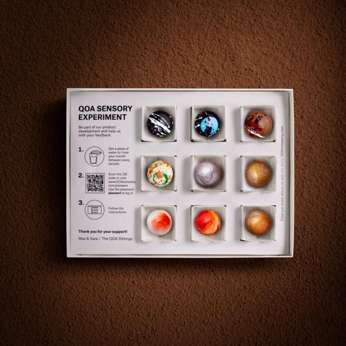 QOA, chocolate