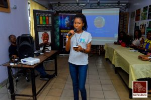 Esther Itolimina, (Lead Women Tech makers, Port-Harcourt)