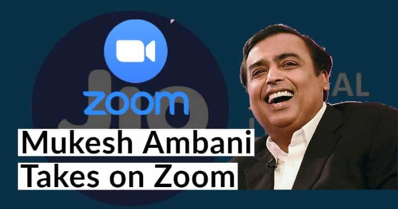 India's Reliance Jio Launched Zoom-like App For Free