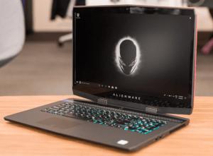 Alienware M17 with GeForce RTX 2060