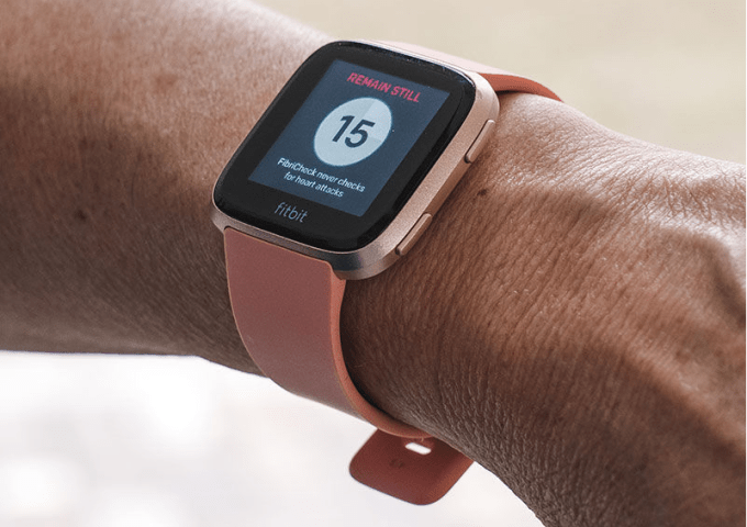 How to take an ECG Reading on Fitbit