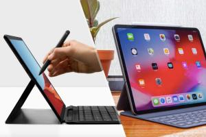 Surface Pro X vs iPad Pro