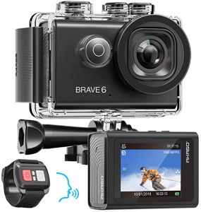 AKASO Brave 6 4K 20MP WiFi Action Camera