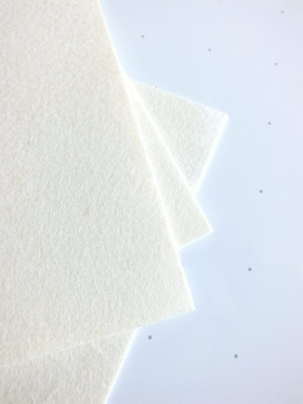 Wool cloth for polishing and buffing