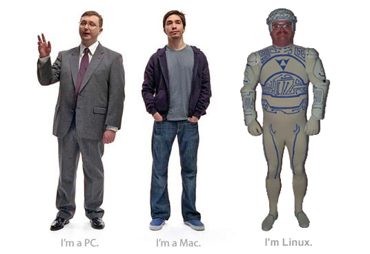 PC vs. Mac vs. Linux