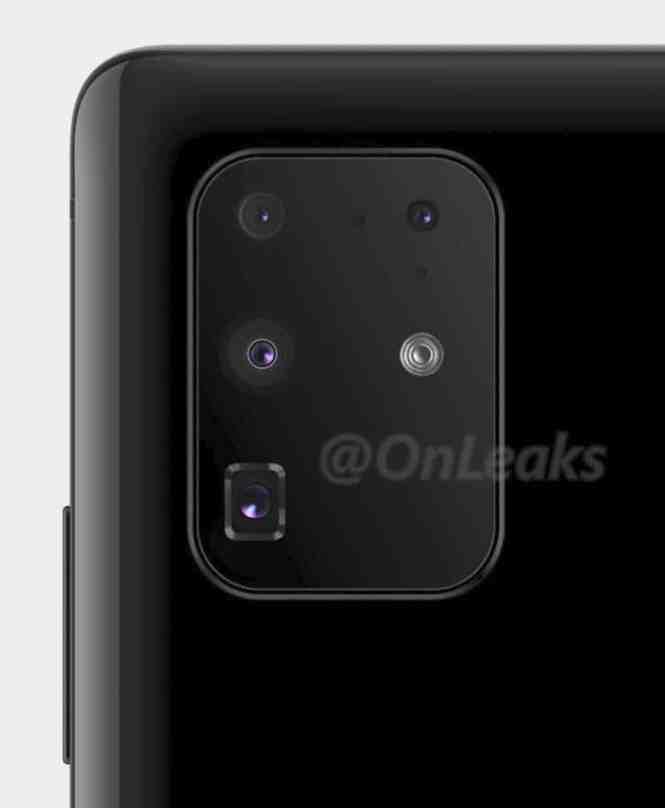 Samsung Galaxy S20 Camera leak