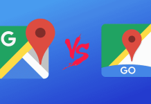Google Maps Vs Google Maps Go