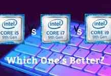 Intel i9 Vs Intel i7 Vs Intel i5