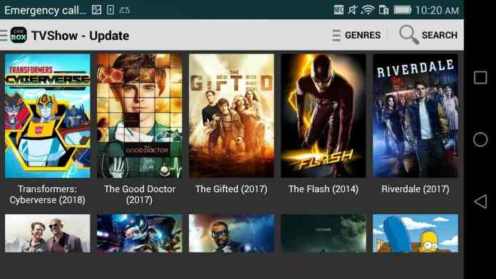 "OneBox HD - ""8 Best Free Movie Streaming Apps for Android"""