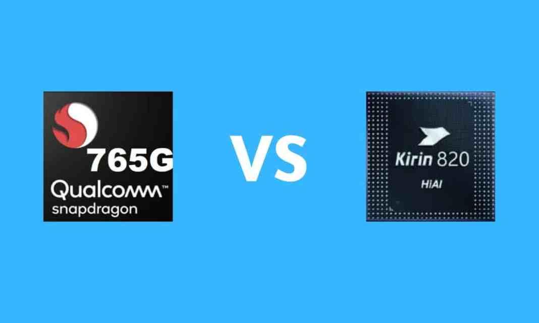 Snapdragon 765G vs. Kirin 820 5G: Which ones better-