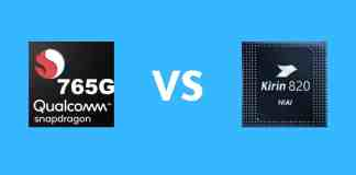 "Snapdragon 765G vs. Kirin 820 5G: Which ones better- ""Kirin 820 5G vs. Snapdragon 855 Plus: Which One's Better?"""