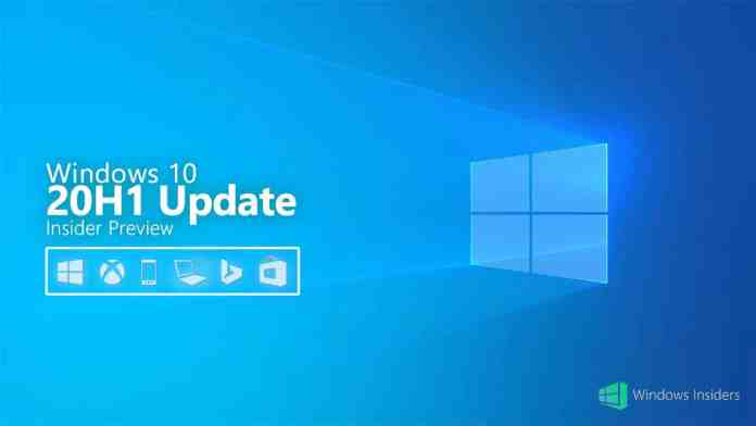 Windows 10 May 2020 Update (20H1)