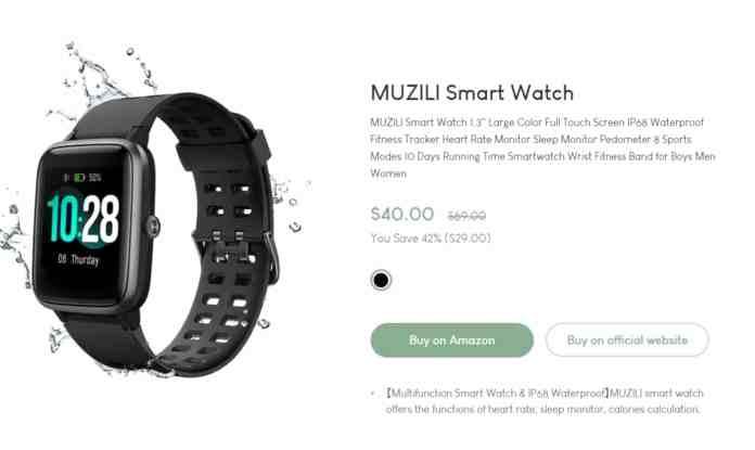 "Muzili - ""Best Smartwatches Under Rs 3000"""