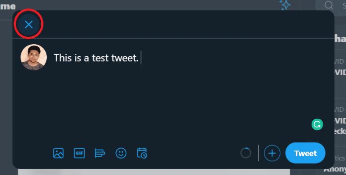 Draft Tweets: Schedule Tweet