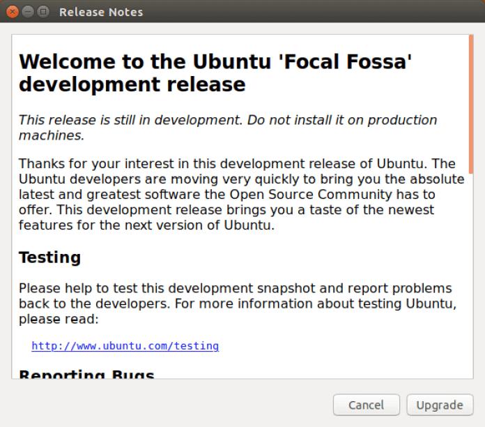 Welcome to ubuntu