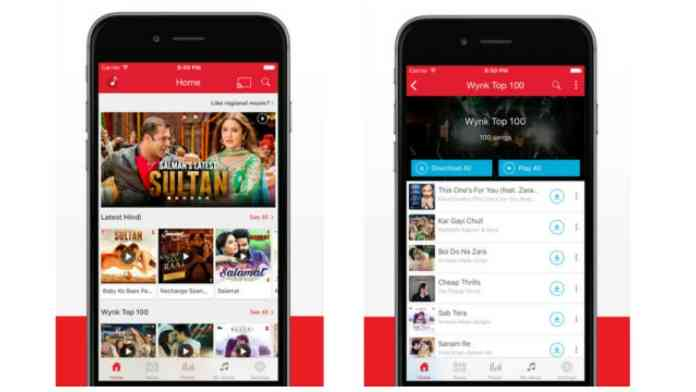 """Wynk - """"5 Best Free Music Download Apps For Android"""""""