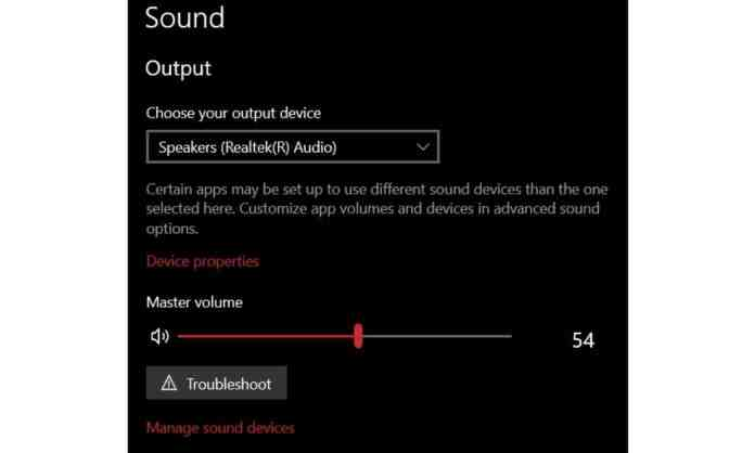 Sound Troubleshooter