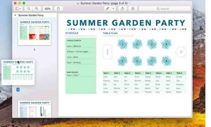 Merge PDF Mac