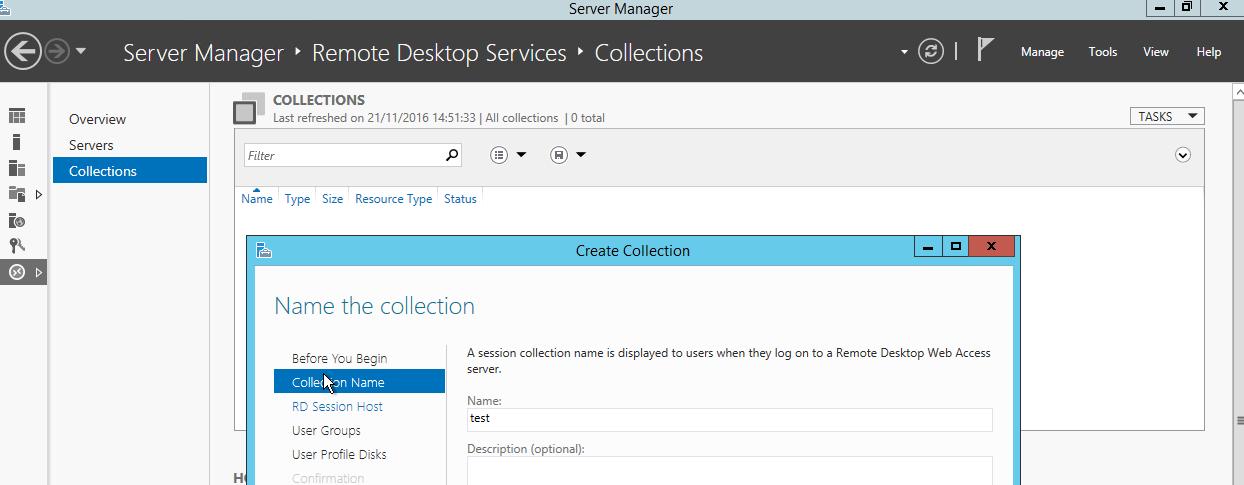 Terminal Server (Remote Desktop Server) installation and