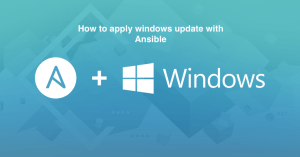 ansible get started windows 1
