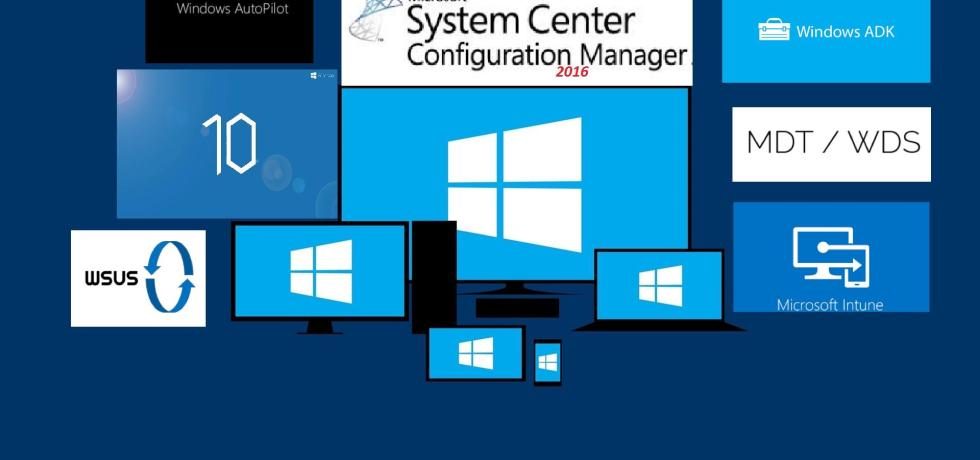 Windows10 SCCM 20161