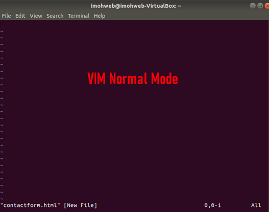 VIM-Normal-Mode