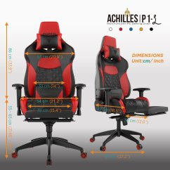 Gamer Chair Accessories Low Camp Review Gamdias Achilles P1 Gaming Techdissected