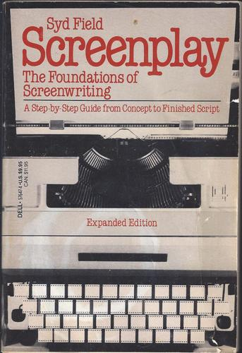 Syd Field Screenplay ORIGINAL cover art