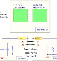 example 4 net labels and ports global [ 1163 x 991 Pixel ]