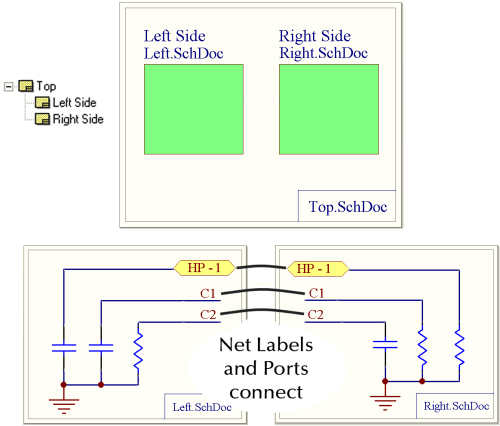 small resolution of example 4 net labels and ports global