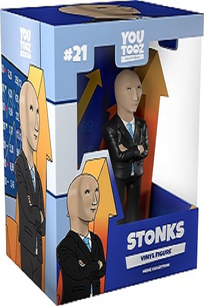 Now you can own a stonks figure all by yourself!