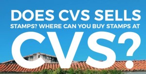 Does CVS sells stamps? Where can you buy stamps at CVS?