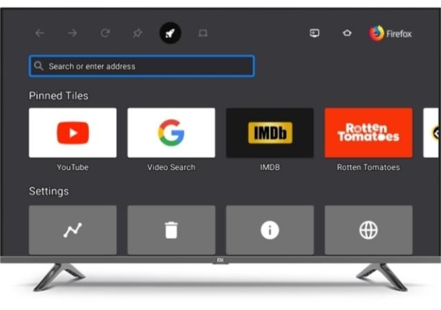 Smart tv software update