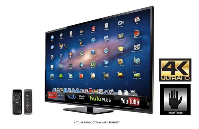 Smart TVs touch screen