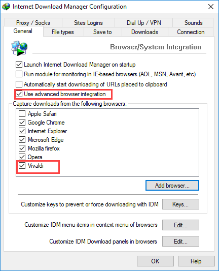 Cara Memasukan Idm Di Chrome : memasukan, chrome, Integrate, Internet, Download, Manager, (IDM), Vivaldi, Browser