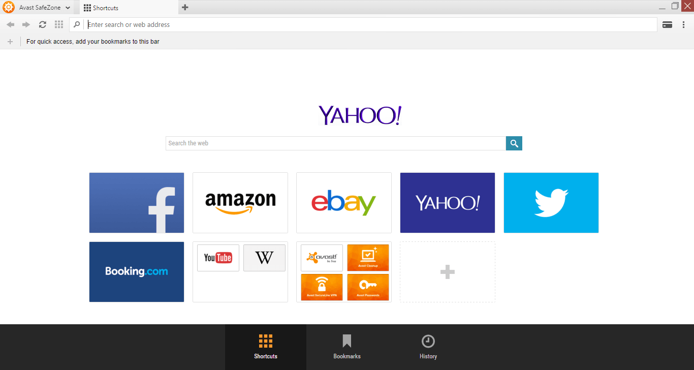 Avast makes SafeZone browser available to free version