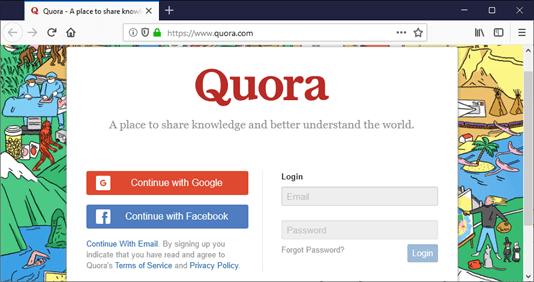 Web Security Quora